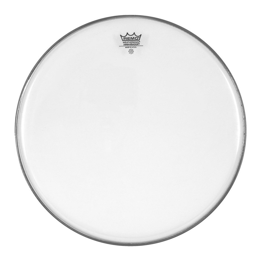 "Remo Ambassador 12"", Clear Drum Head"