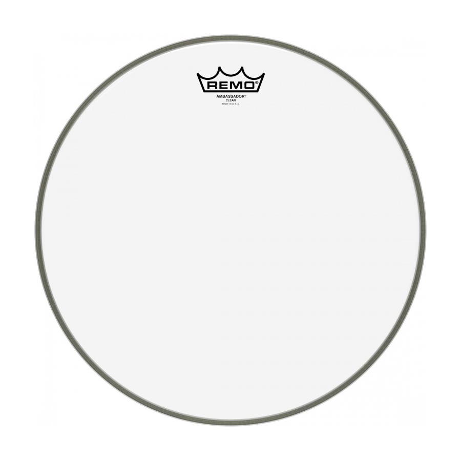 "Remo Ambassador 14"", Clear Drum Head"