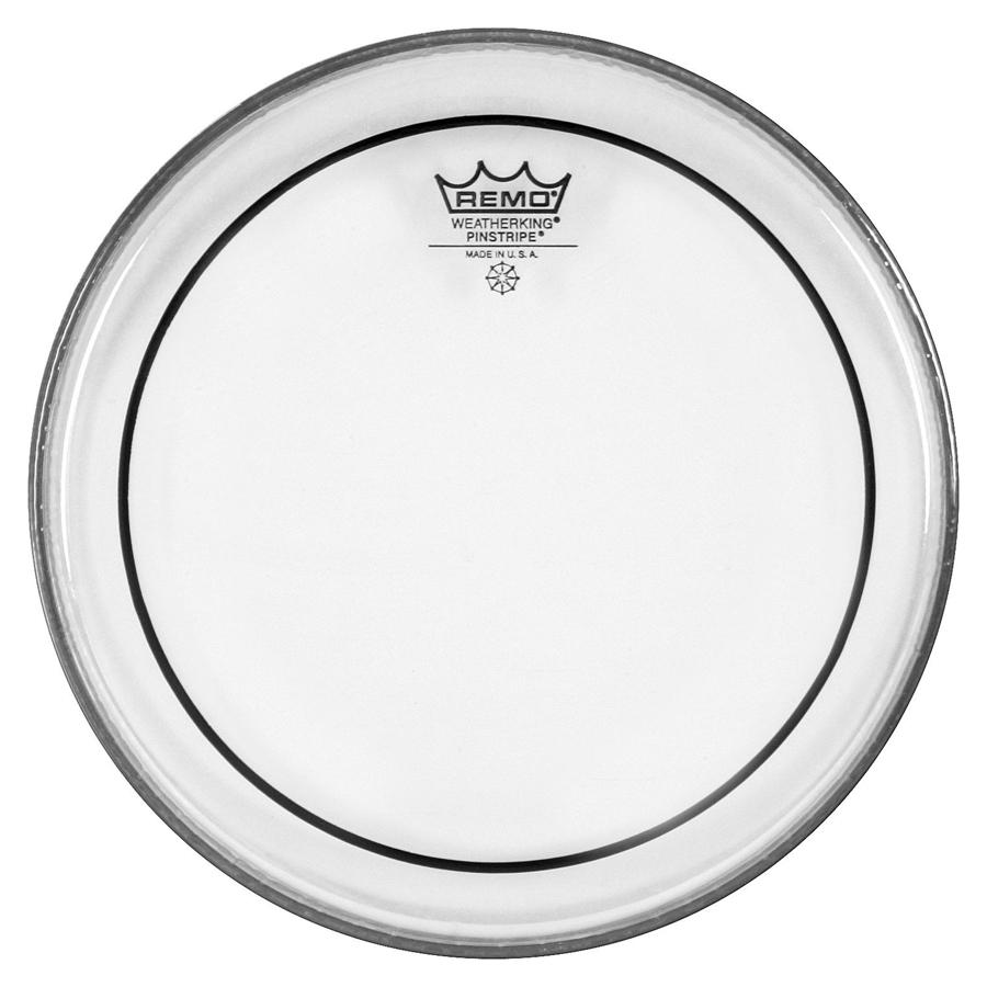 "Remo Pinstripe 13"", Clear Drum Head"