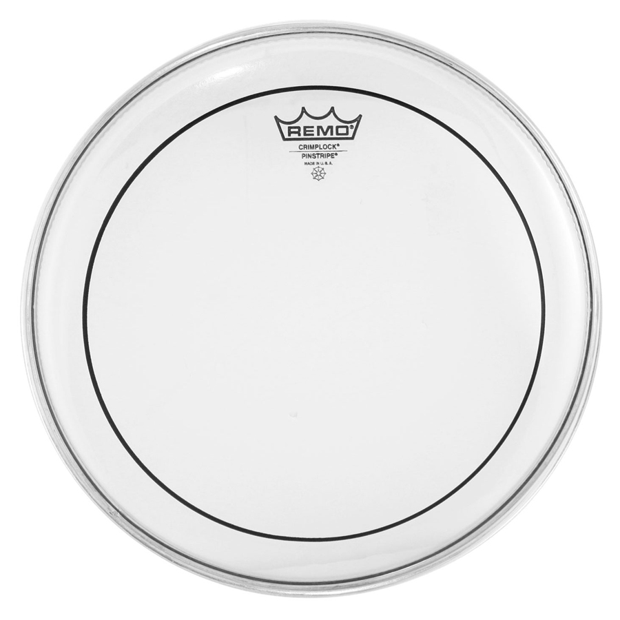 "Remo Pinstripe 14"", Clear Drum Head"