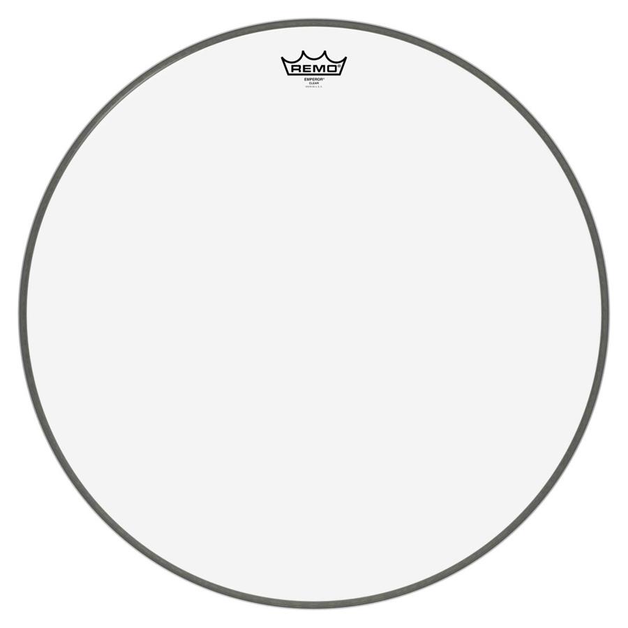 "Remo Emperor 22"", Clear Bass Drum Head"