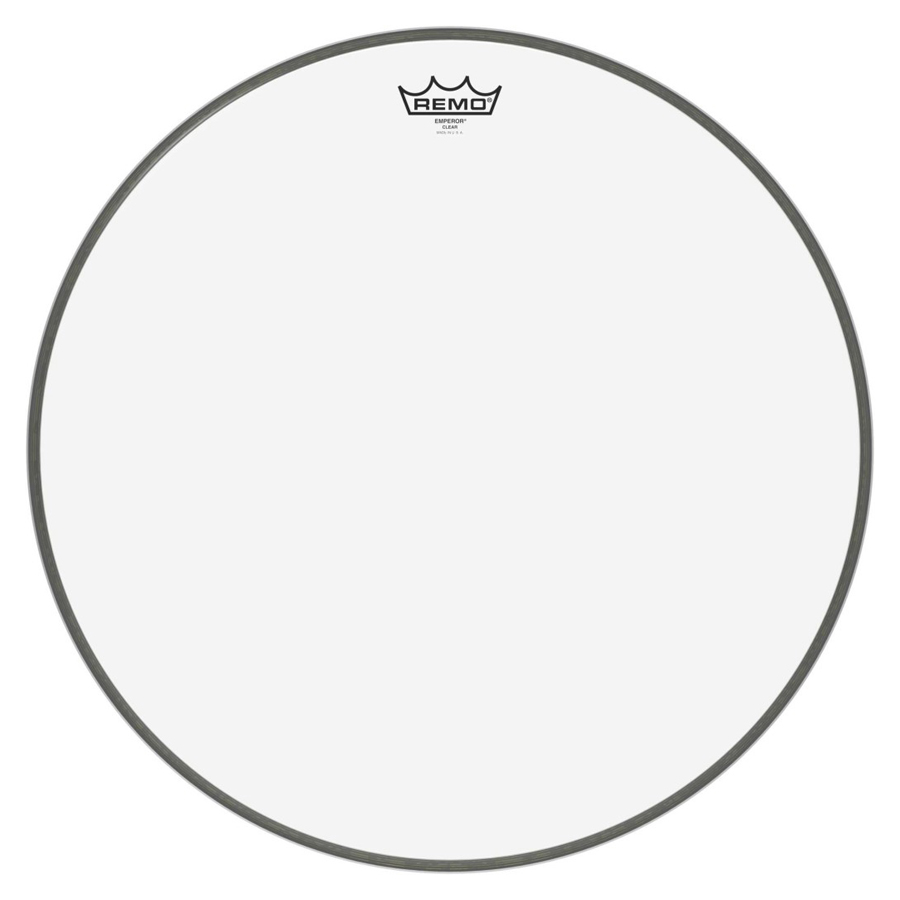 "Remo Emperor 20"", Clear Bass Drum Head"