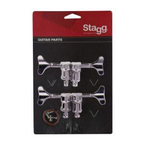 Stagg KG243CR Chrome Bass Machine Heads