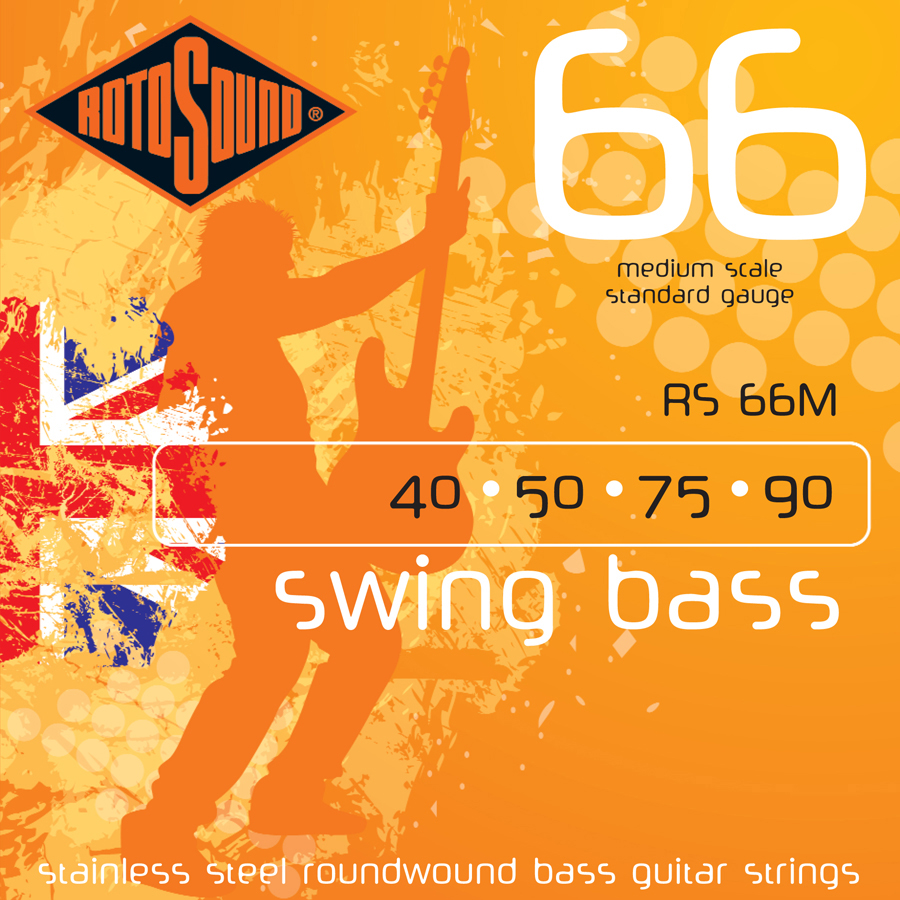 Rotosound Medium Scale Bass Set Strings