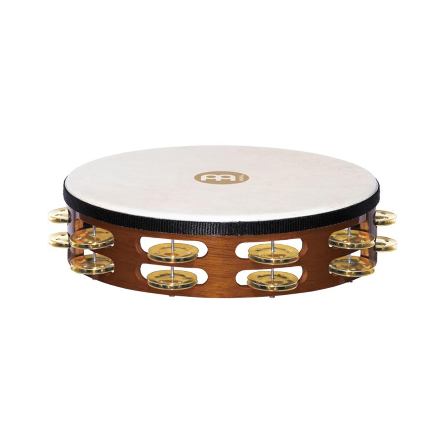 Meinl Head 2 Rows, Brass Tambourine
