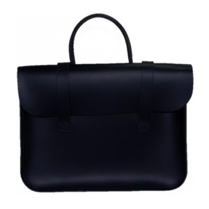 Leathergraft 4002 Black Leather Music Case