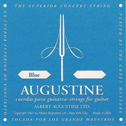 Augustine Blue Classical Guitar Strings Set