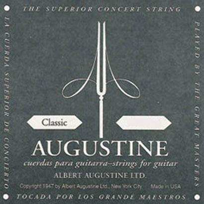Augustine Black Classical Guitar Strings Set