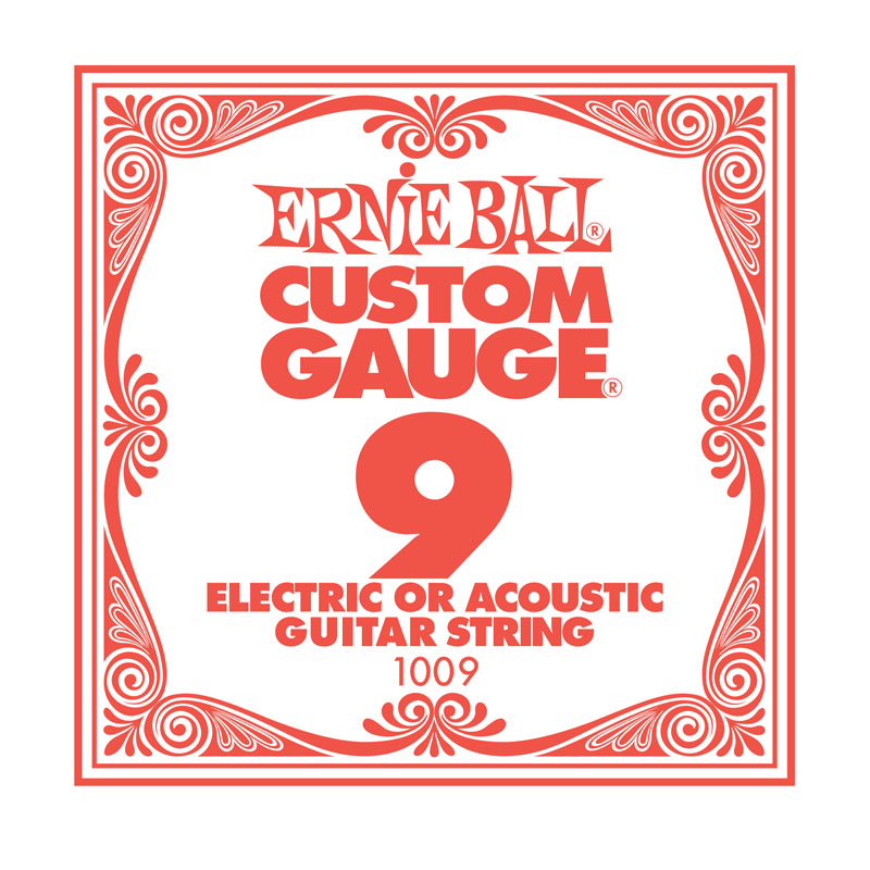 Ernie Ball Plain .009 Guitar String