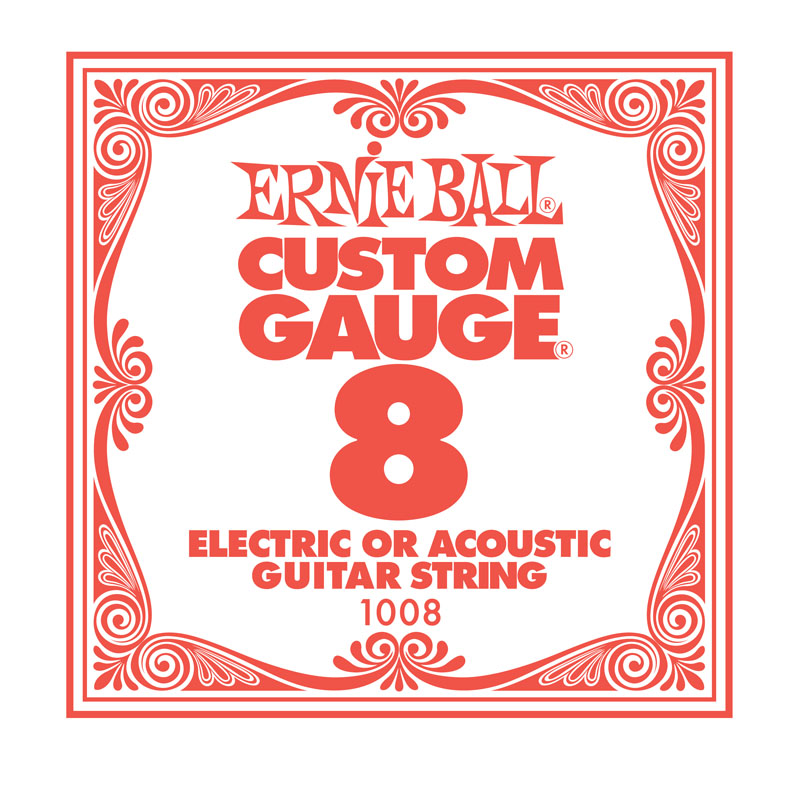 Ernie Ball Plain .008 Guitar String