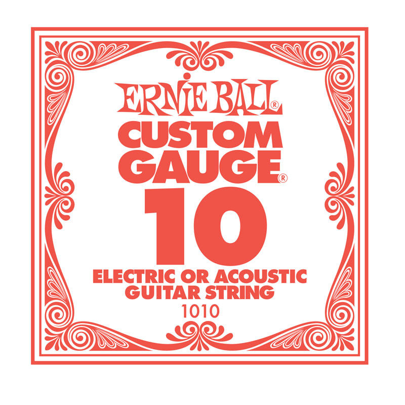 Ernie Ball Plain .010 Guitar String