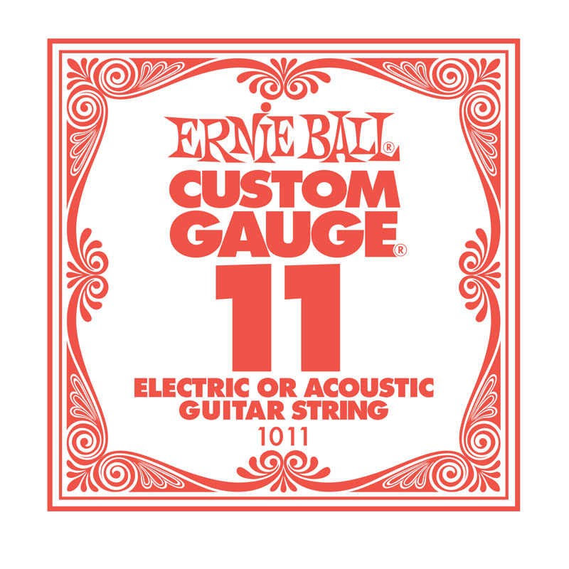 Ernie Ball Plain .011 Guitar String