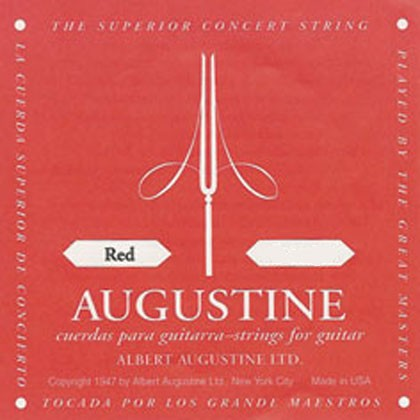 Augustine Red Classical Guitar Strings Set