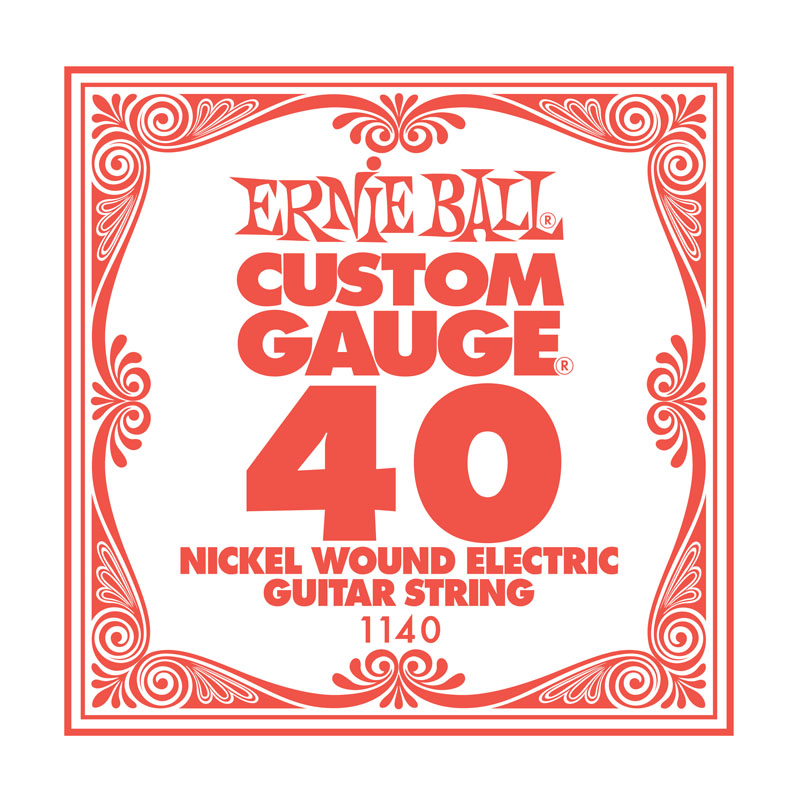 Ernie Ball Nickel Wound .040 Guitar String
