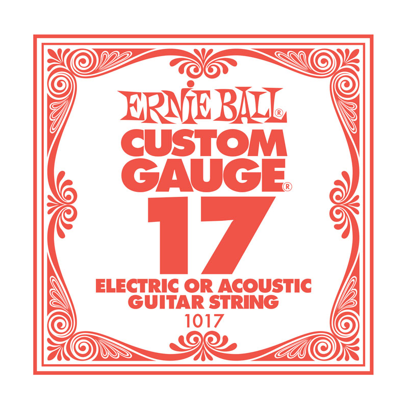 Ernie Ball Plain .017 Guitar String