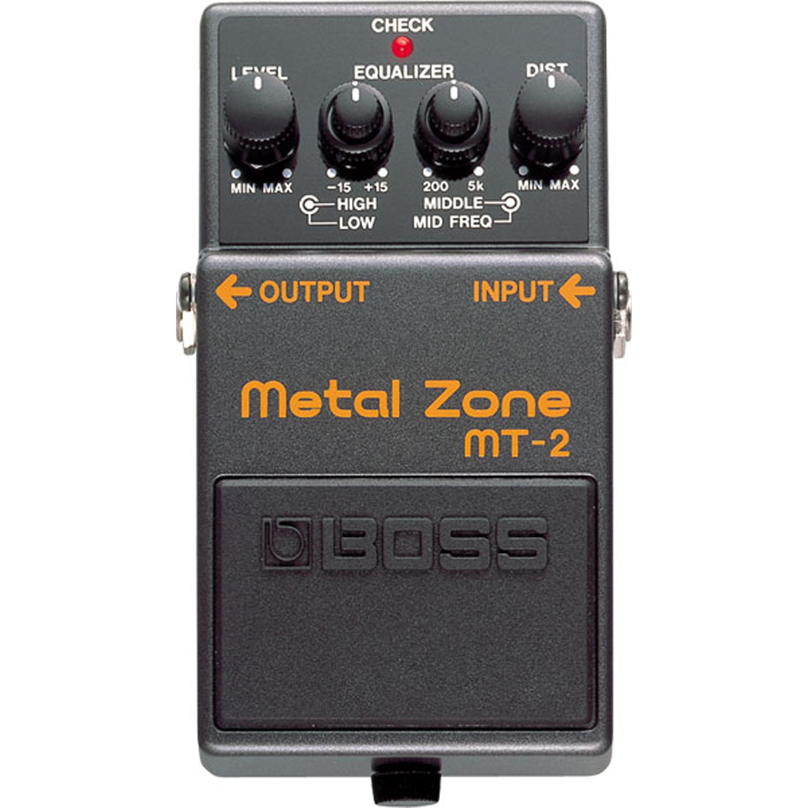 Boss MT-2 Metal Pedal