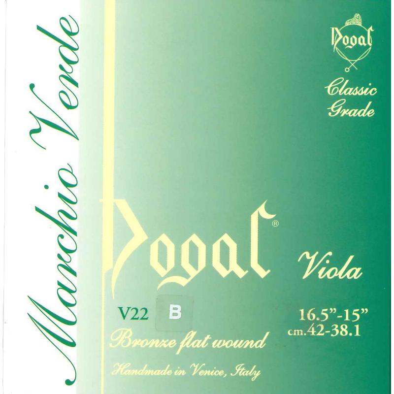Dogal V22Q Viola, Set String
