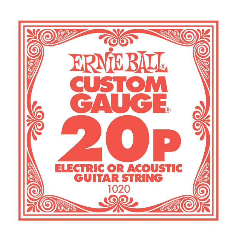 Ernie Ball Plain .020 Guitar String