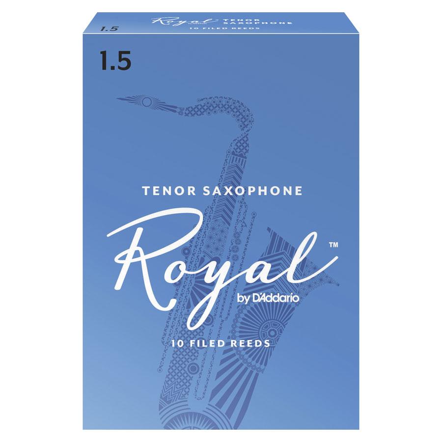 Rico Royal Tenor Saxophone, 1.5 Box of 10 Reed