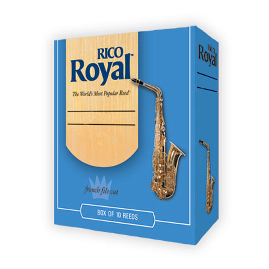 Rico Royal  Box of 10, Tenor Saxophone, 2.5 Reed