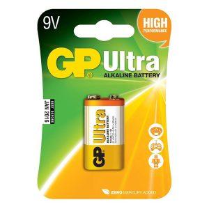GP Ultra PP3 9V Battery
