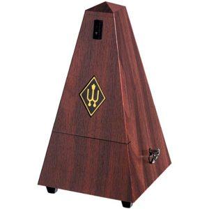 Wittner Maelzel No Bell, Mahogany Plastic Metronome