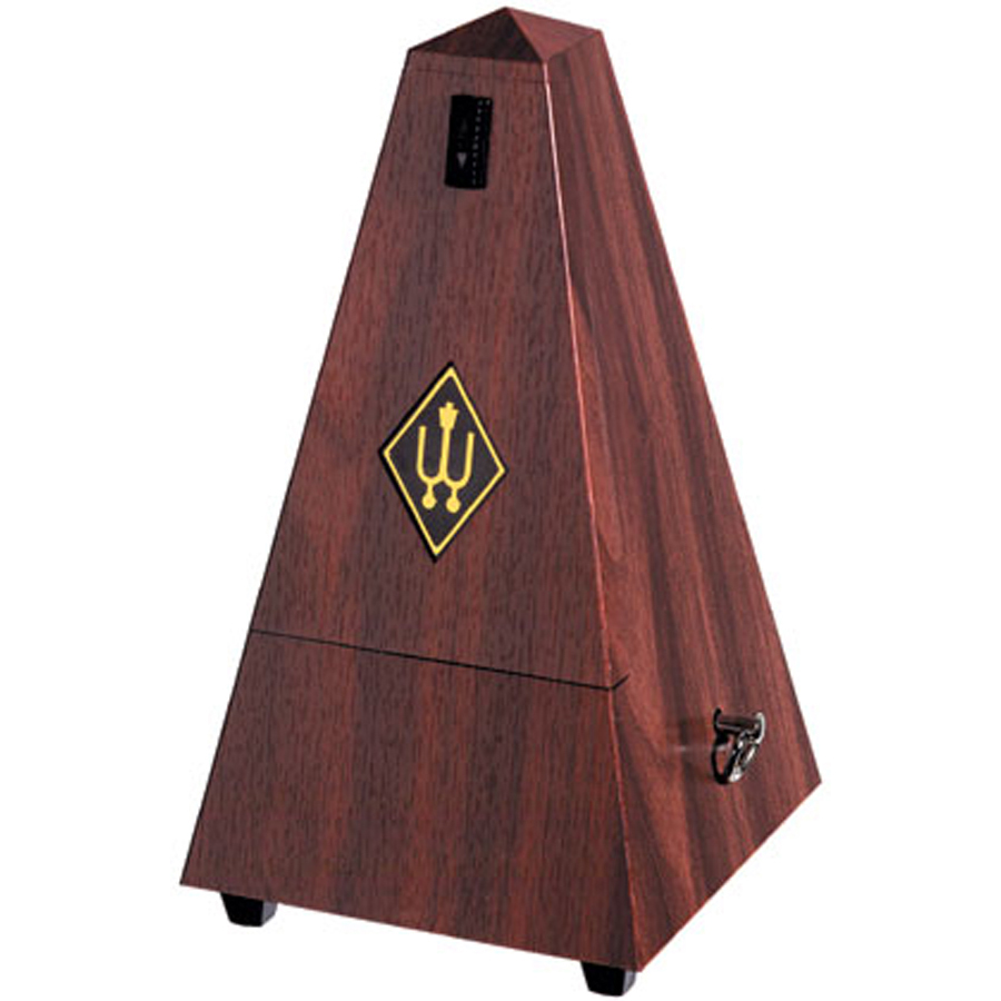 Wittner Maelzel with Bell, Mahogany Plastic Metronome