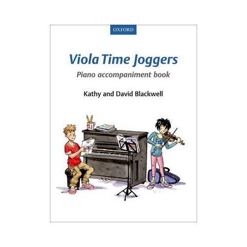 Viola Time Joggers. Piano Accompaniment