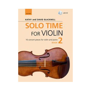 Solo Time for Violin Book 2
