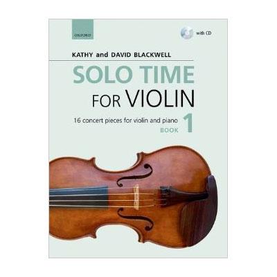 Solo Time for Violin Book 1