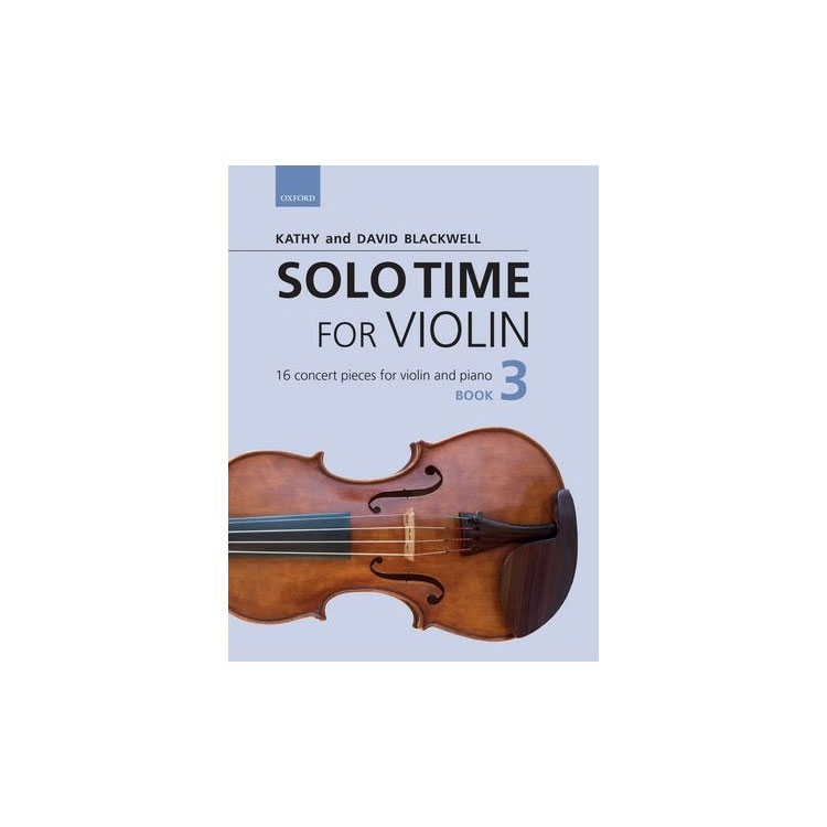 Solo Time for Violin Book 3