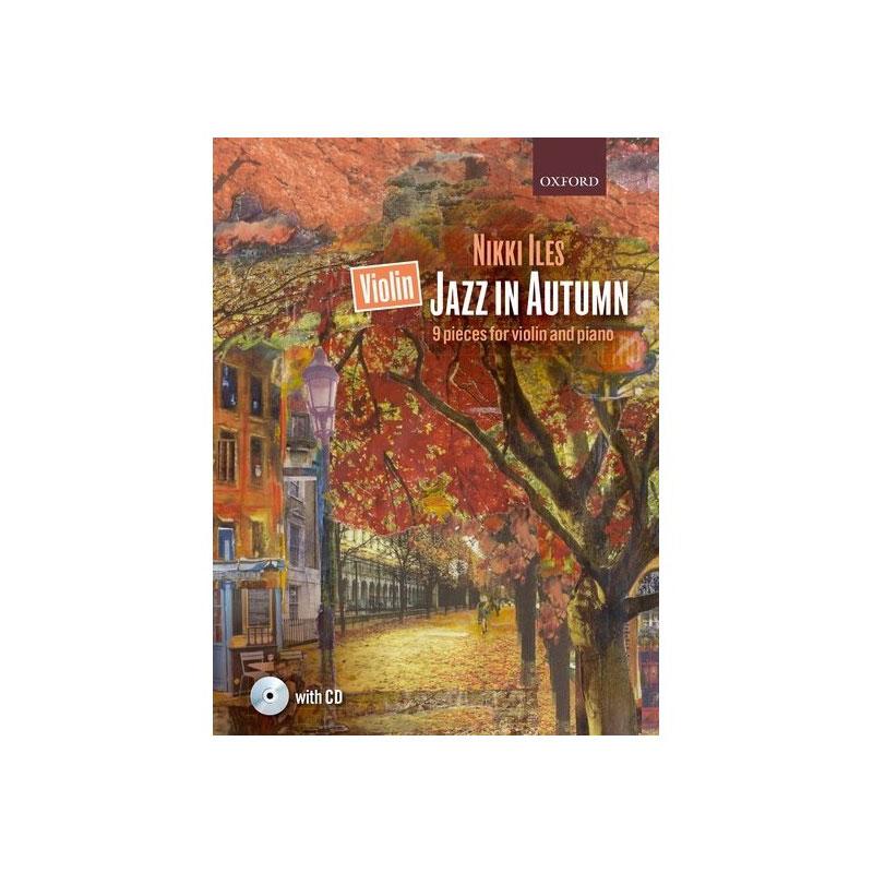 Violin Jazz in Autumn w. CD
