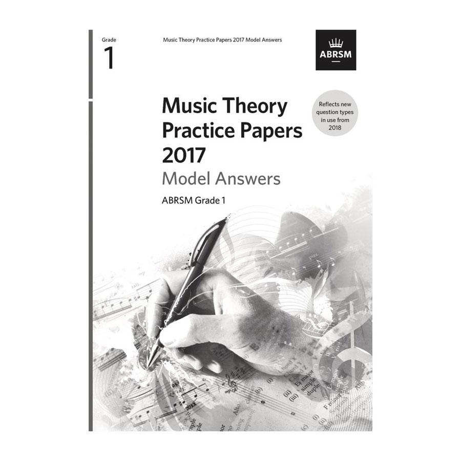 ABRSM Theory Model Answers 2017 Grade 1