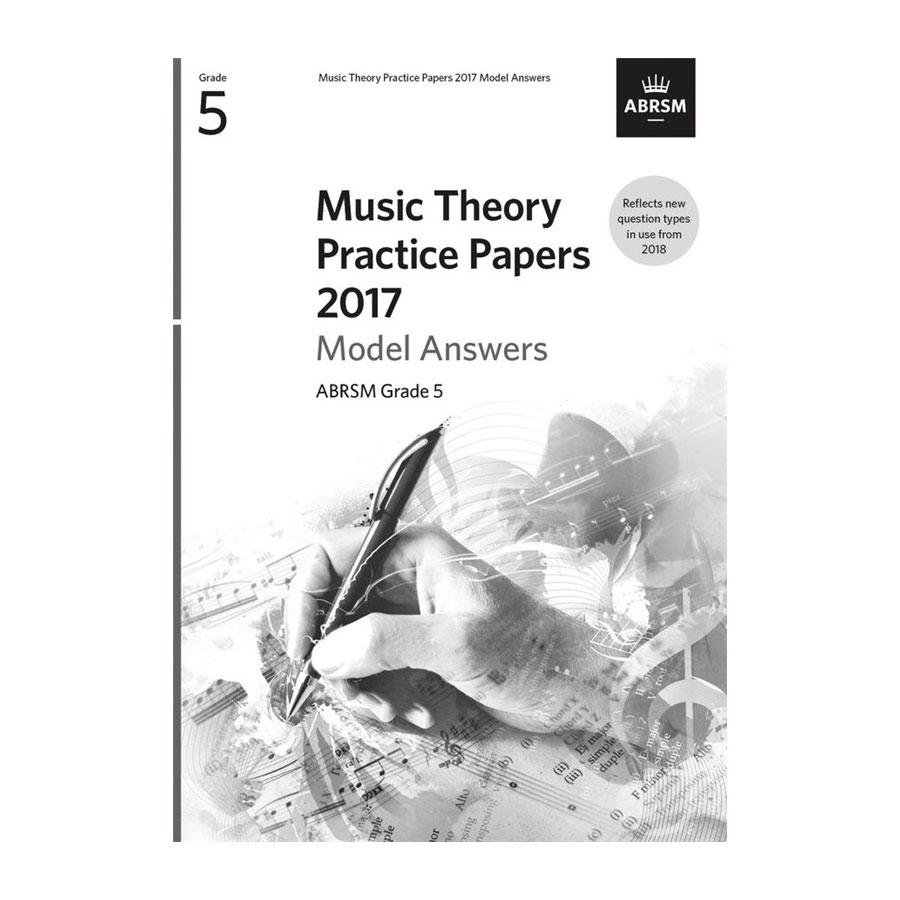 ABRSM Theory Model Answers 2017 Grade 5