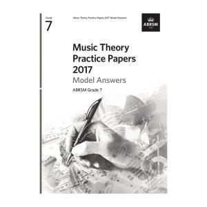 ABRSM Theory Model Answers 2017 Grade 7
