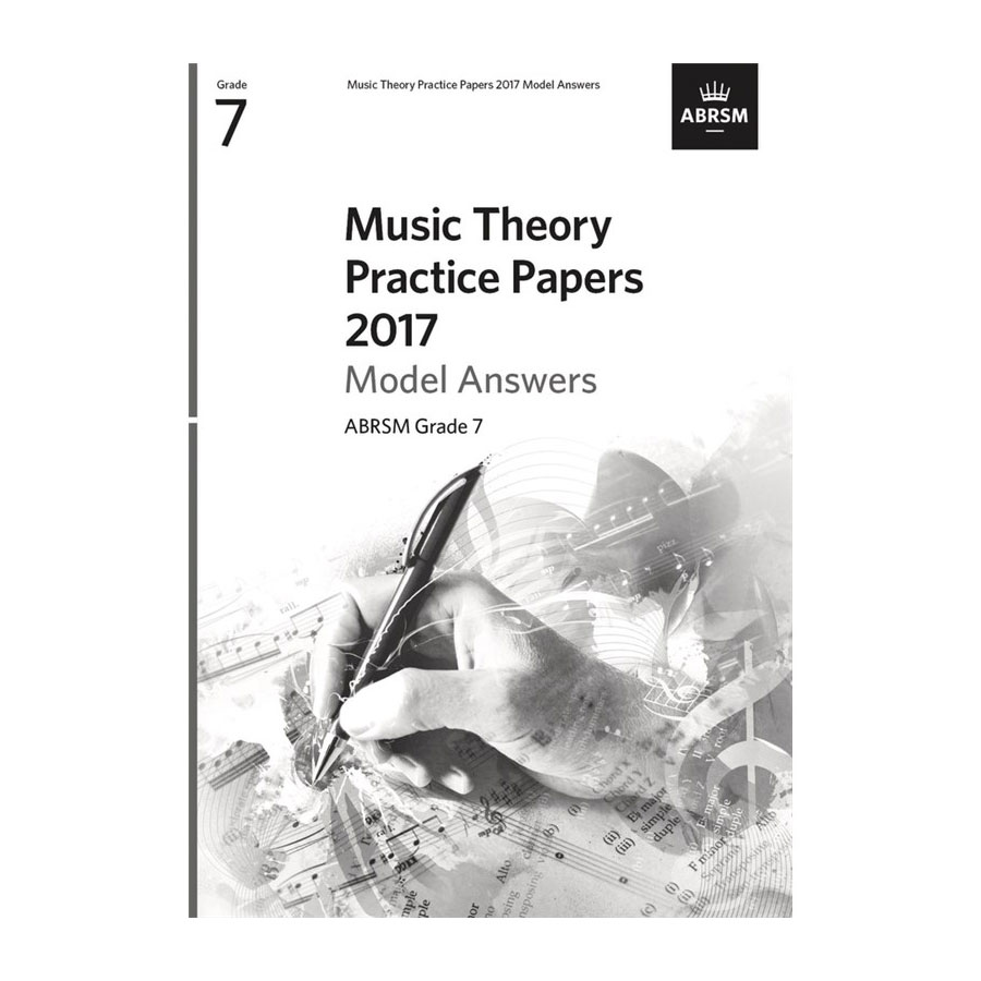 ABRSM Theory Model Answers 2017 Grade 7