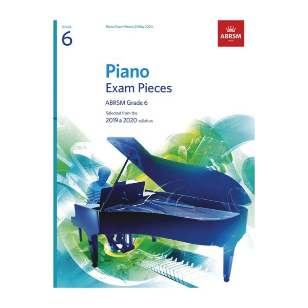ABRSM Piano Exam Pieces Gr 6 2019-2020
