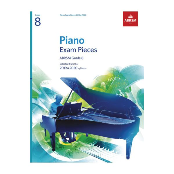 ABRSM Piano Exam Pieces Gr 8 2019-2020