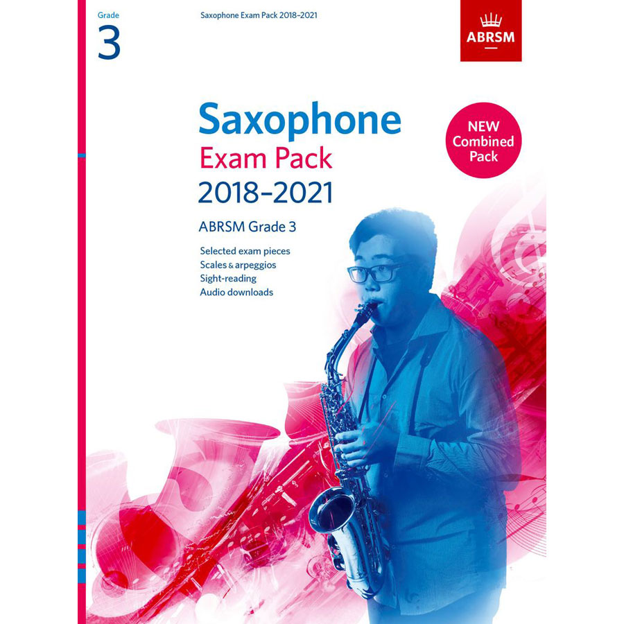 Saxophone Exam Pack Grade 3 2018-2021