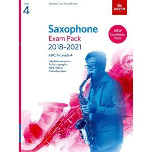 Saxophone Exam Pack Grade 4 2018-2021