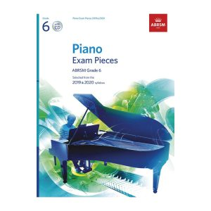 ABRSM Piano Exam Pieces Gr 6 2019-2020 with CD