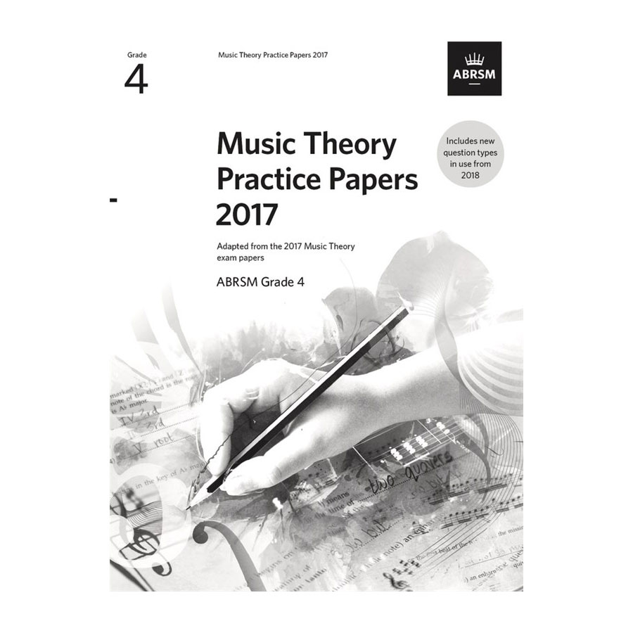 ABRSM Theory Practice Paper 2017 Grade 4