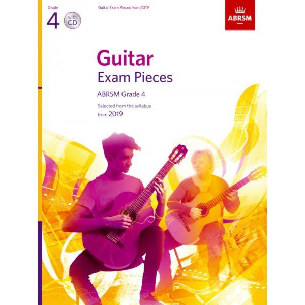 ABRSM Guitar Exam Pieces Grade 4 2019 with CD