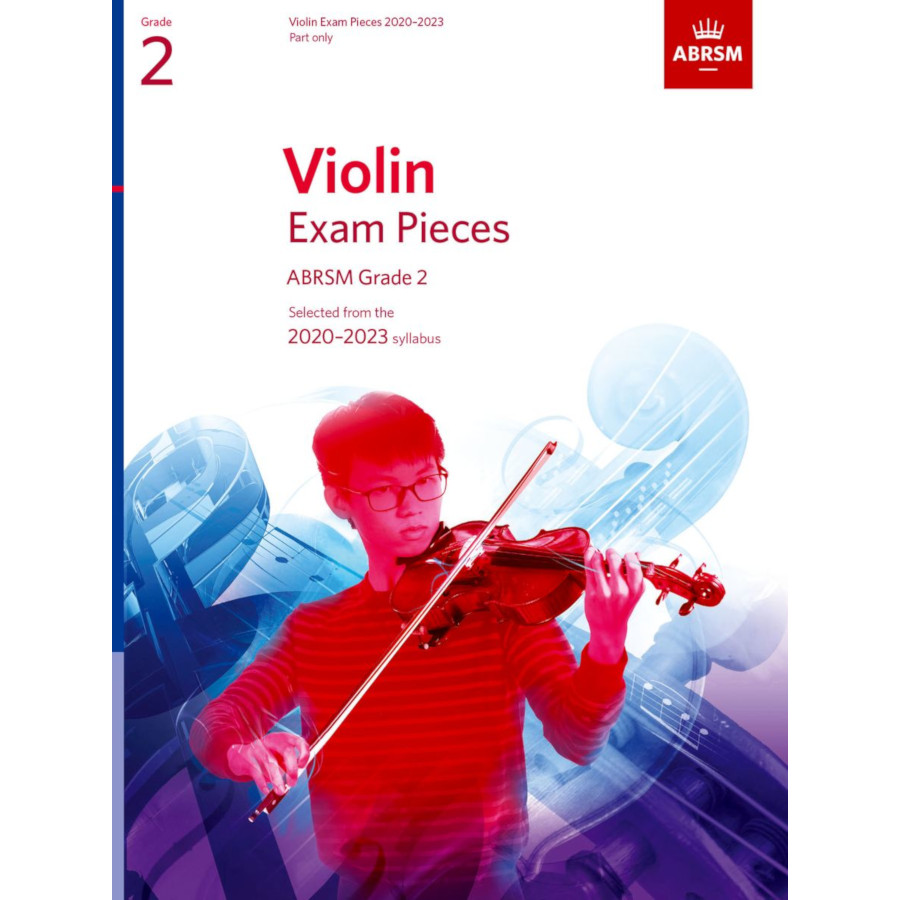 ABRSM Violin Grade 2 Pieces 2020-2023 Part Only