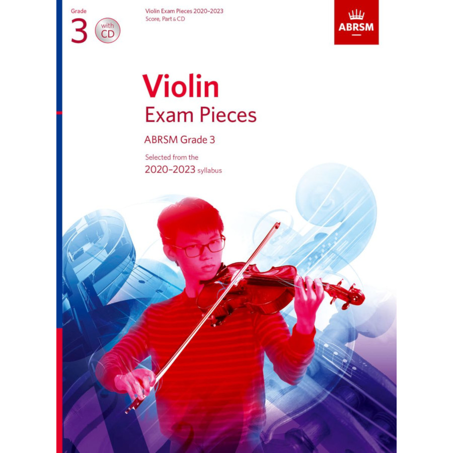 ABRSM Violin Grade 3 Pieces 2020–2023 S/P/CD