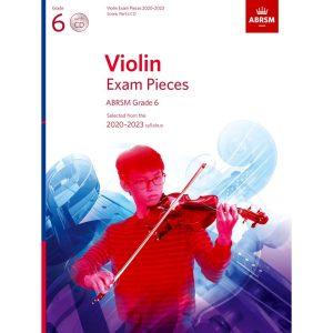 ABRSM Violin Grade 6 Pieces 2020–2023 S/P/CD