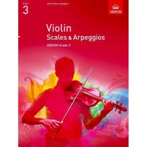 Violin Grade 3 Scales & Arpeggios (ABRSM)