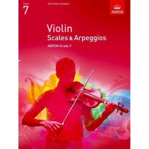 Violin Grade 7 Scales & Arpeggios (ABRSM)