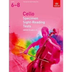 Cello Grades 6-8 Spec S-R Tests (ABRSM)
