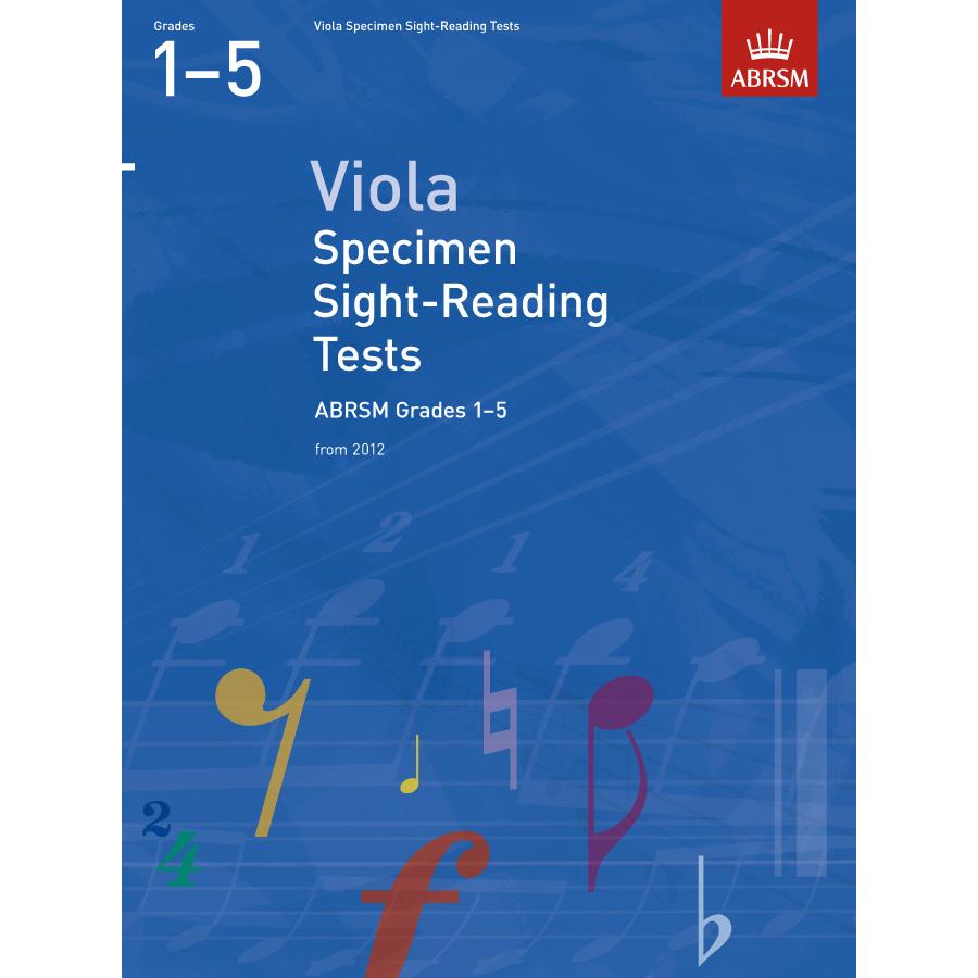 Viola Grades 1-5 Spec S-R Tests (ABRSM)